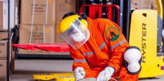 Protejarea lucrătorilor la nivelul capului si feței